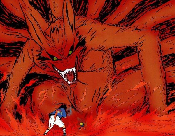 Naruto kyubi ici my dessins de manga et my fiction - Naruto kyubi dessin ...